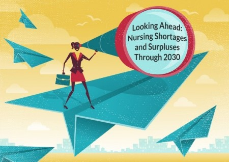 Looking Ahead: Nursing Shortages and Surpluses Through 2030