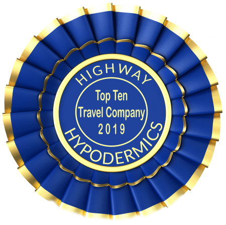 Health Providers Choice Named Highway Hypodermics 2019 #1 Travel Company